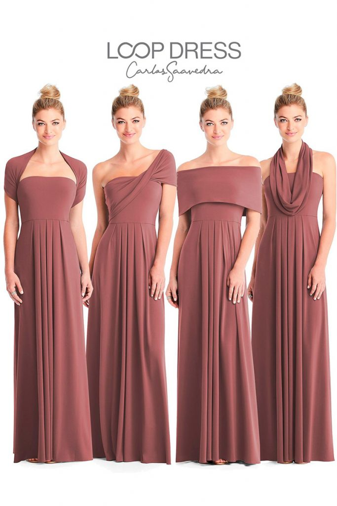 Dessy Bridesmaids LI Loop Dresses